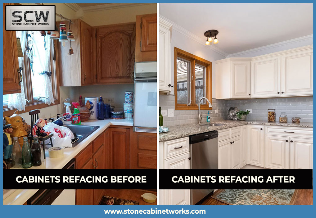 Save your money by refacing Kitchen cabinets