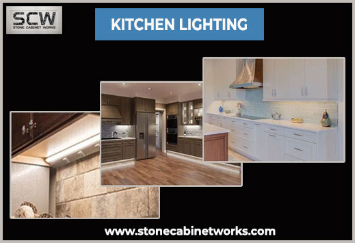 Lighting in the Kitchen adds more grace to it