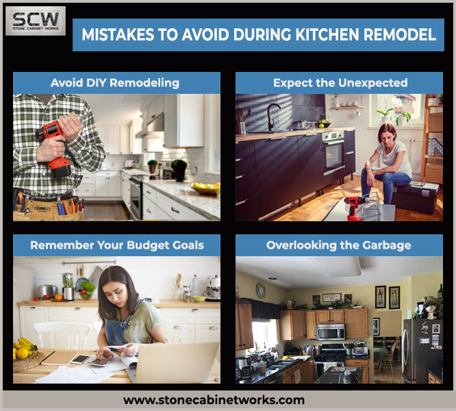 mistakes to avoid during Kitchen remodeling